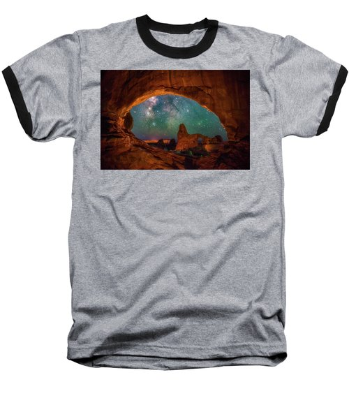 Window To The Heavens Baseball T-Shirt