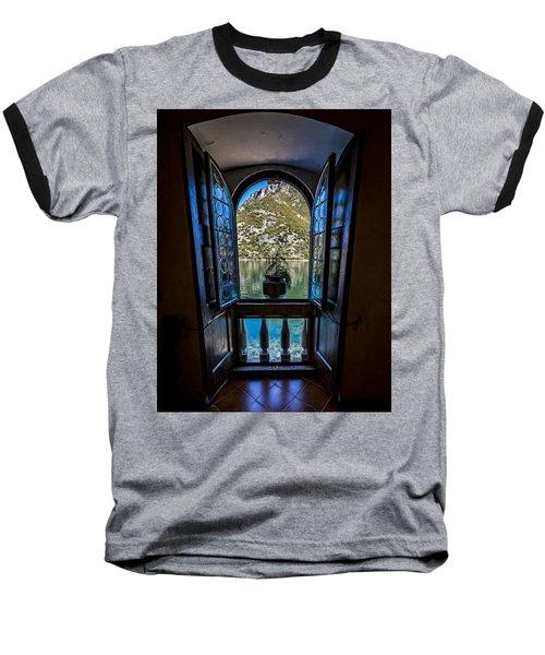 Window To The Lake Baseball T-Shirt