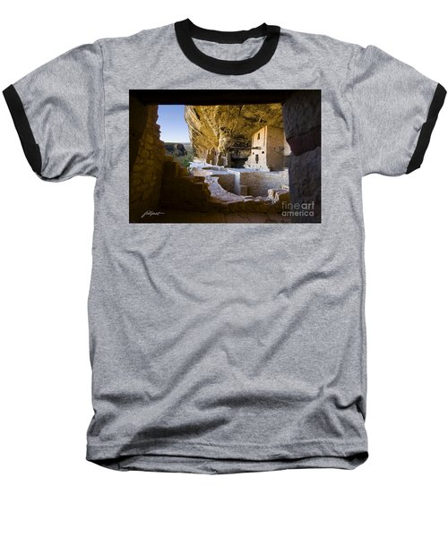 Window To The Past Baseball T-Shirt