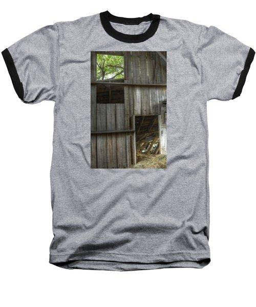 Window To The Present Baseball T-Shirt