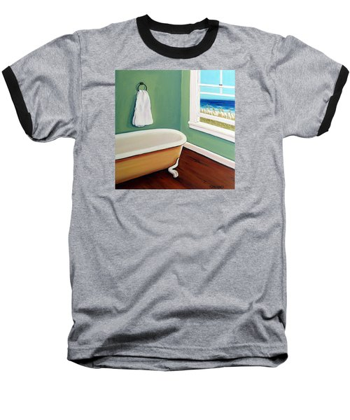 Window To The Sea No. 4 Baseball T-Shirt