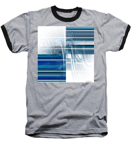 Window To Whirlpool Baseball T-Shirt by Thibault Toussaint