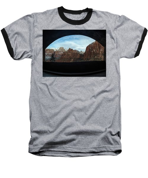 Window To Zion Baseball T-Shirt