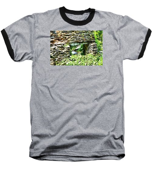 Window View Of Sope Creek Baseball T-Shirt