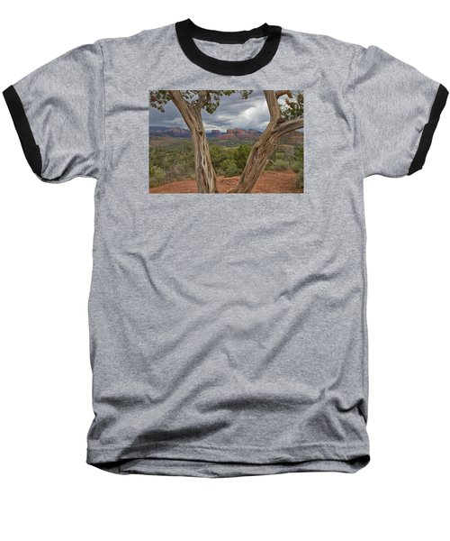 Window View Baseball T-Shirt