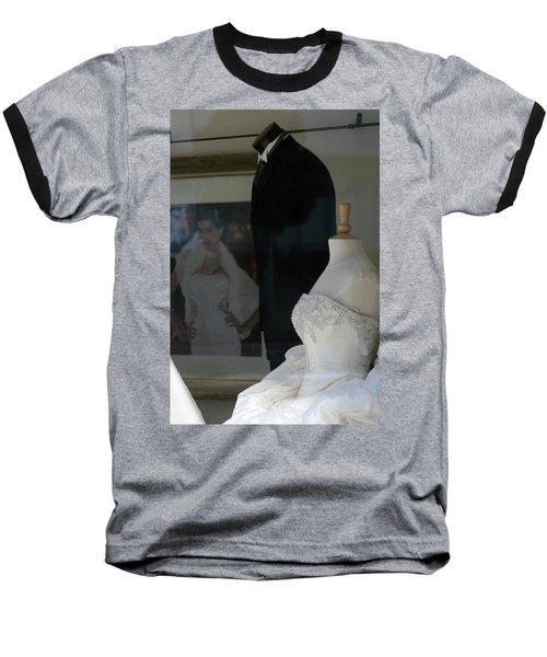 Window Wedding Attire Baseball T-Shirt
