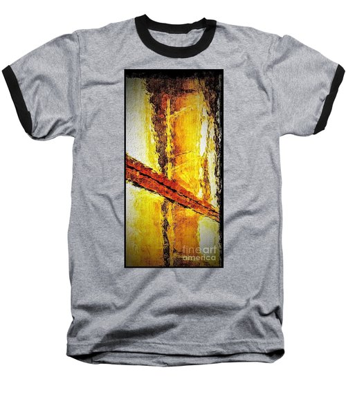 Window Baseball T-Shirt by William Wyckoff