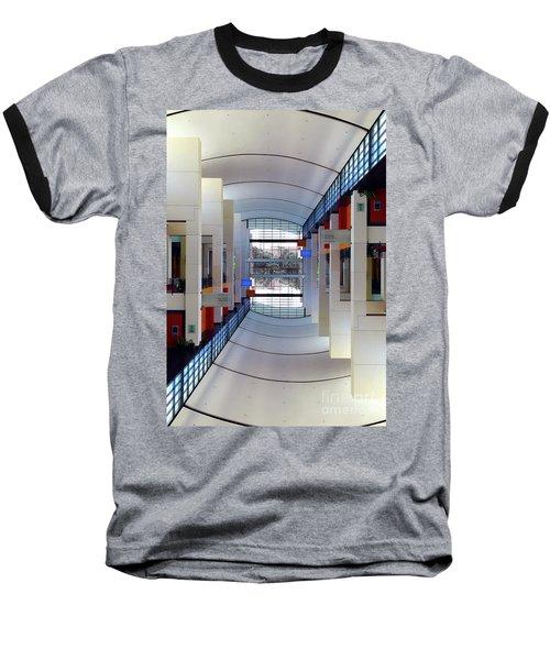 Baseball T-Shirt featuring the photograph Windows by Brian Jones