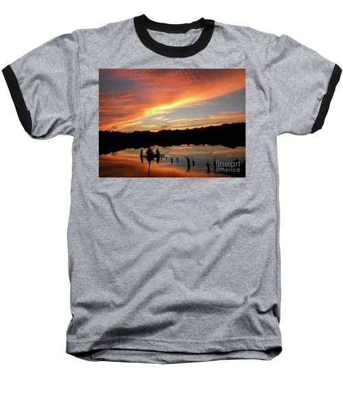 Windows From Heaven Sunset Baseball T-Shirt