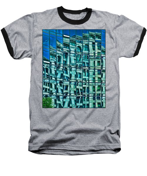 Windows In Windows Baseball T-Shirt