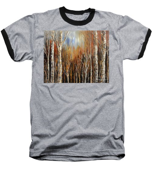 Winds Of Autumn Baseball T-Shirt