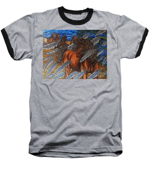Winds Of Change Baseball T-Shirt