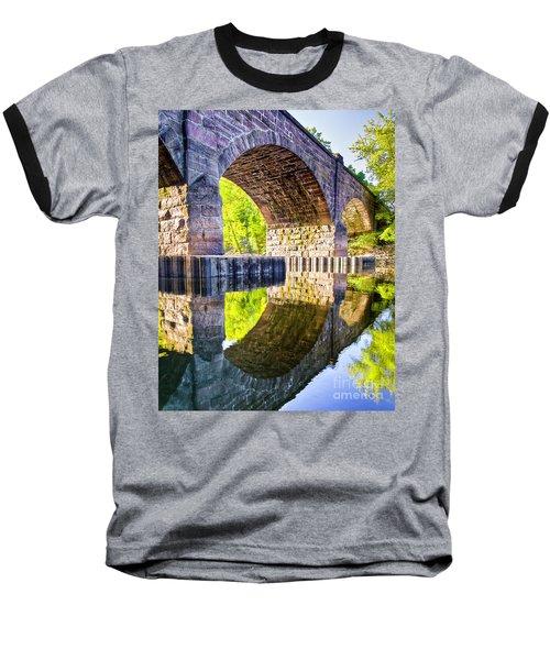 Windsor Rail Bridge Baseball T-Shirt