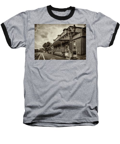 Windsor Railroad Station Baseball T-Shirt