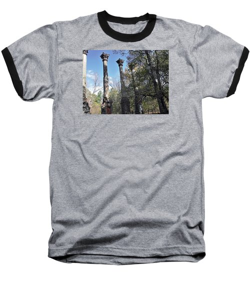 Baseball T-Shirt featuring the photograph Windsor Ruins by Helen Haw