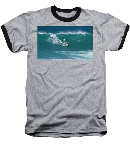 Windsurfer At Hookipa, Maui Baseball T-Shirt