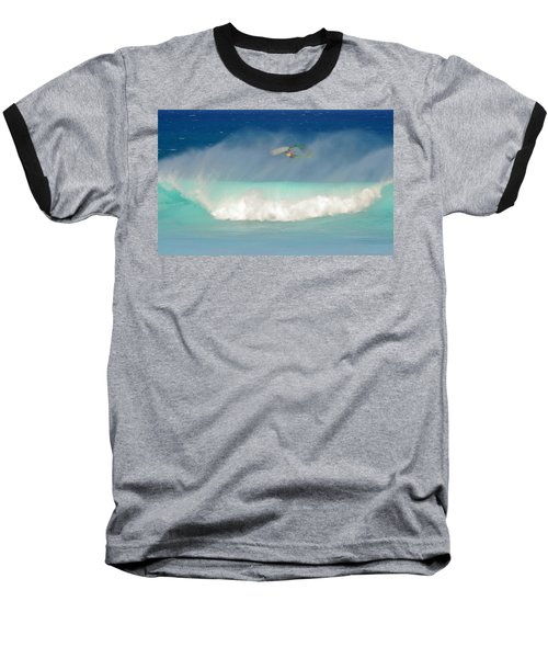 Windsurfer In The Spray Baseball T-Shirt