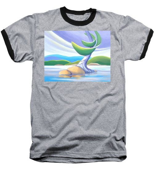 Windswept Baseball T-Shirt