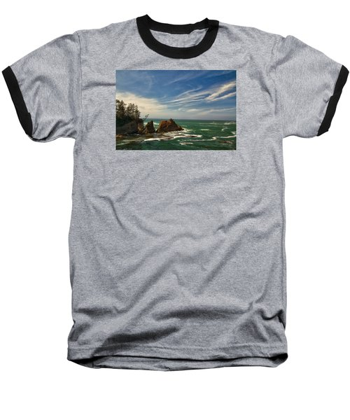 Windswept Day Baseball T-Shirt
