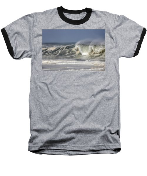 Windswept Baseball T-Shirt by Mark Alder