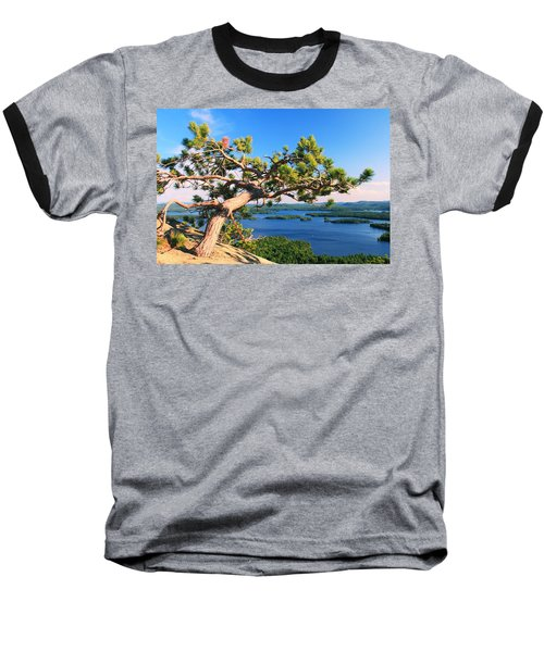 Windswept Pine On Rattlesnake Mountain Baseball T-Shirt