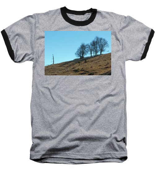 Windswept Trees - December 7 2016 Baseball T-Shirt