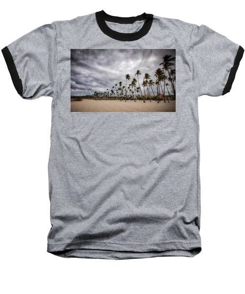 Windy Beach Baseball T-Shirt