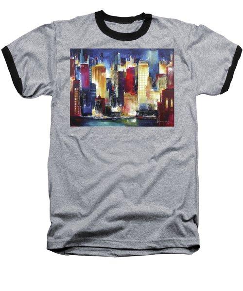 Windy City Nights Baseball T-Shirt