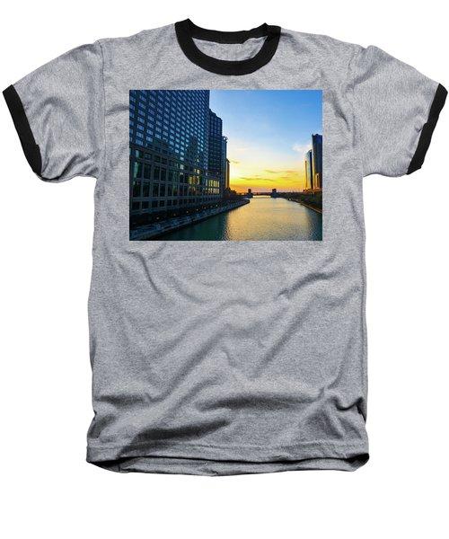 Windy City Sunrise Baseball T-Shirt