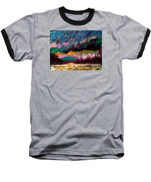Windy Day On Gulf Islands Baseball T-Shirt