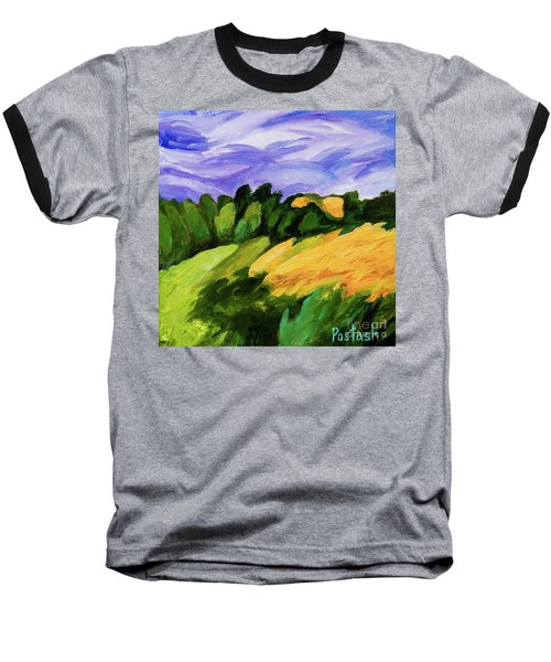 Windy Baseball T-Shirt by Igor Postash