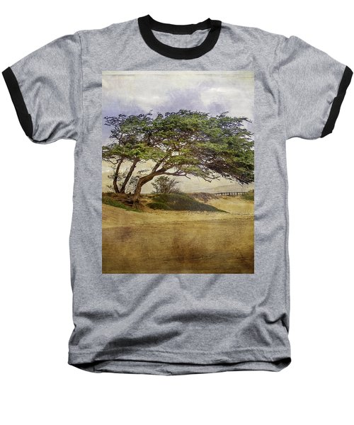 Baseball T-Shirt featuring the photograph Windy Lean by Gena Weiser