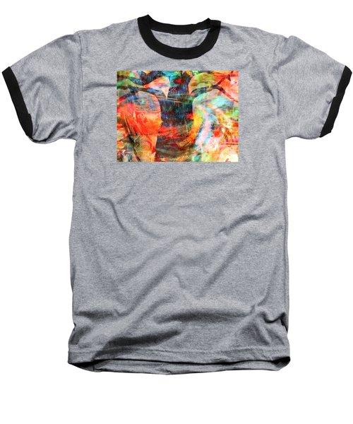 Windy Moments Baseball T-Shirt by Fania Simon
