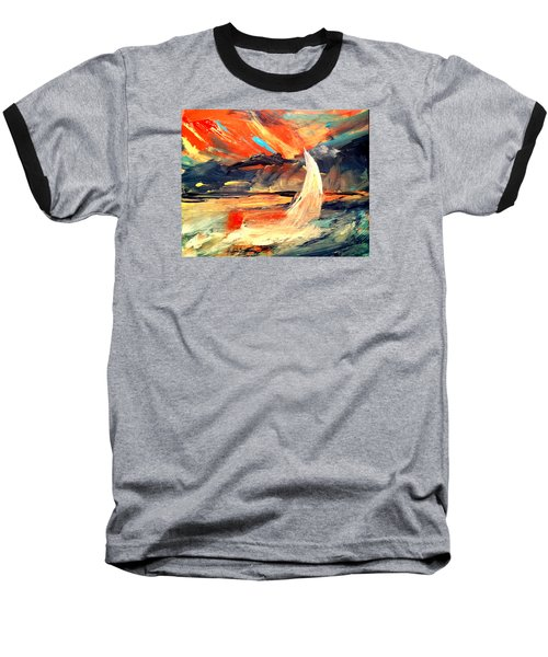 Windy Sail Baseball T-Shirt