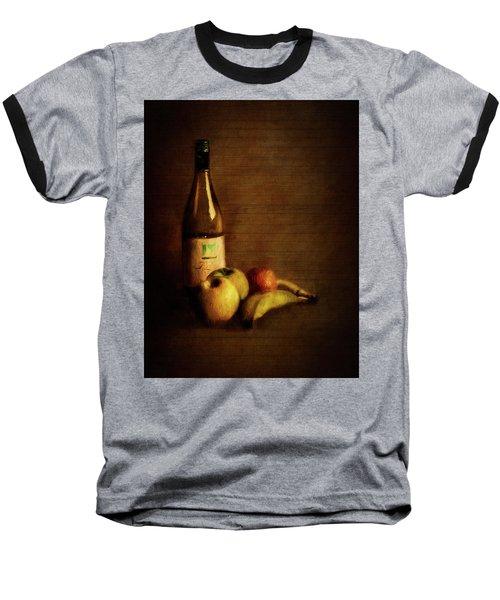 Wine And Fruit Baseball T-Shirt