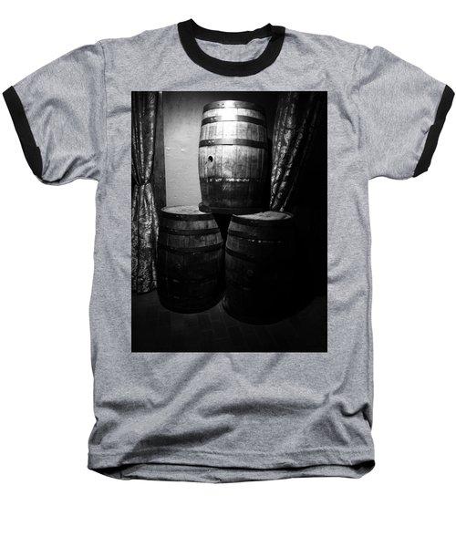 Wine Barrels Baseball T-Shirt