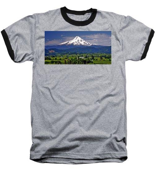 Wine Country Baseball T-Shirt by Scott Mahon