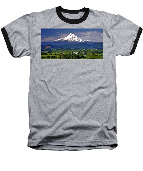 Wine Country Baseball T-Shirt
