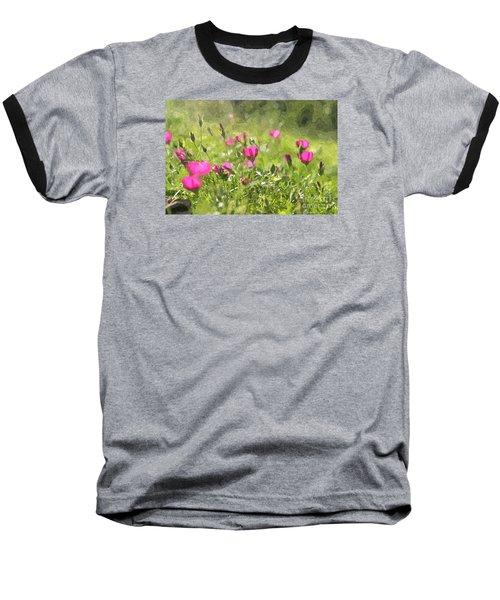 Wine Cups Baseball T-Shirt