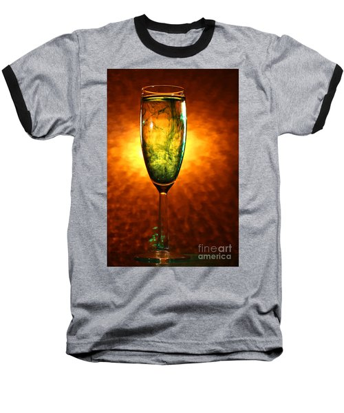Wine Glass  Baseball T-Shirt