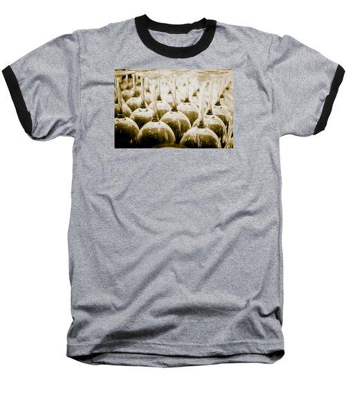 Wine Glasses Baseball T-Shirt