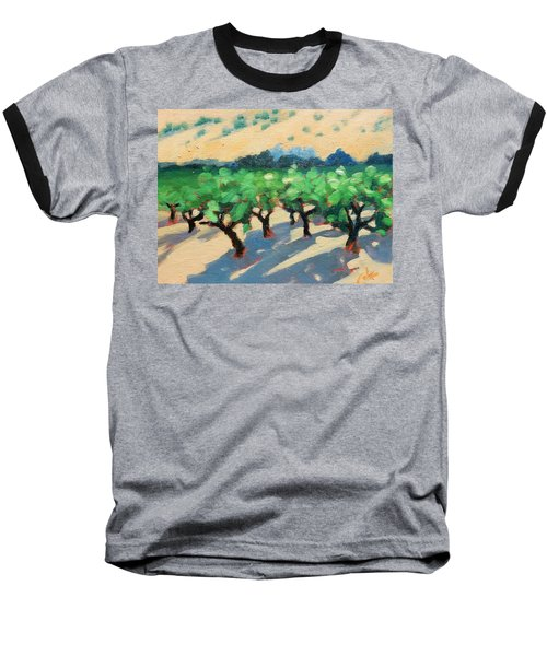 Baseball T-Shirt featuring the painting Wine Habitat by Gary Coleman