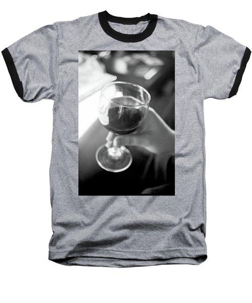 Wine In Hand Baseball T-Shirt