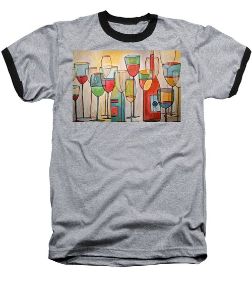Wine Tasting Baseball T-Shirt