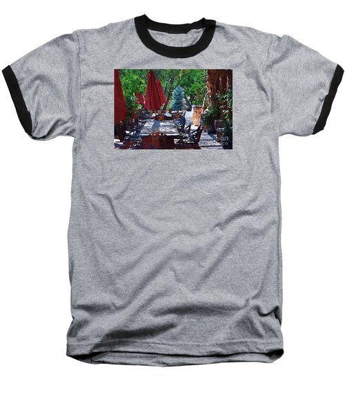 Baseball T-Shirt featuring the digital art Wine Tasting by Kirt Tisdale