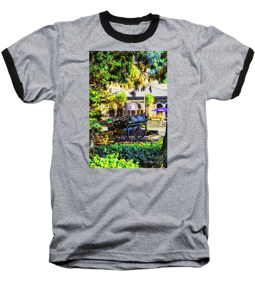 Baseball T-Shirt featuring the photograph Wine Wagon by Rick Bragan