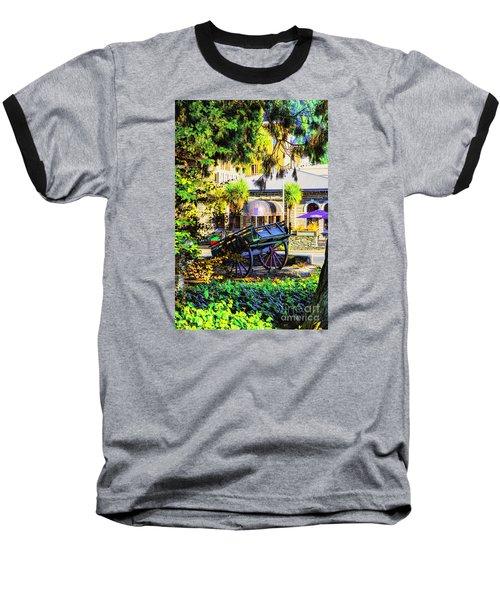 Wine Wagon Baseball T-Shirt