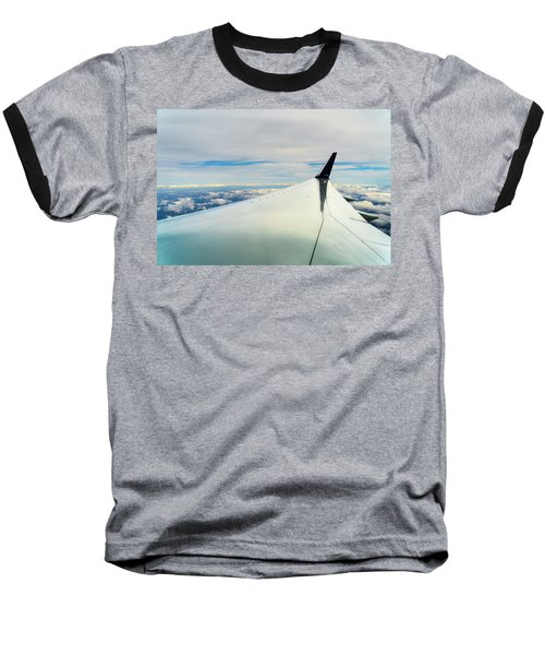 Wing And Clouds Baseball T-Shirt