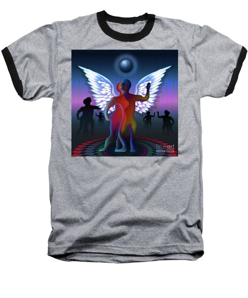 Winged Life Baseball T-Shirt