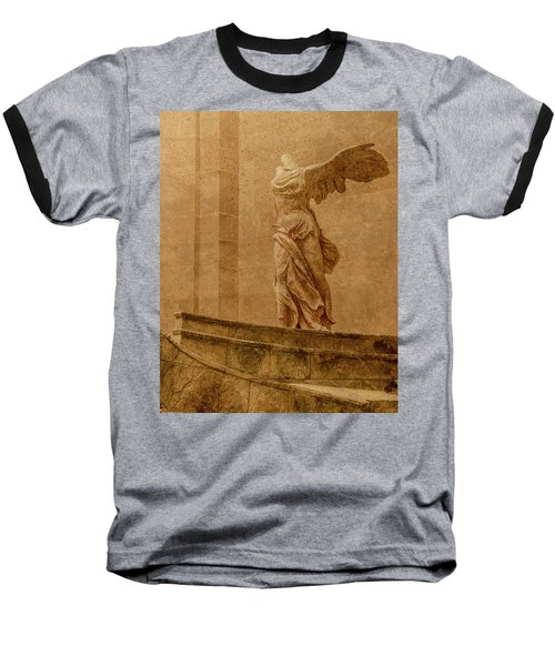 Paris, France - Louvre - Winged Victory Baseball T-Shirt